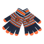 Chicago Bears Knit stretch Gloves