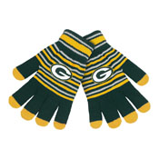 Green Bay Packers Knit stretch Gloves