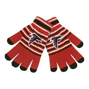 Atlanta Falcons Knit stretch Gloves