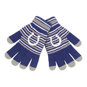Indianapolis Colts Knit stretch Gloves