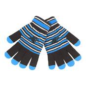 Carolina Panthers Knit stretch Gloves