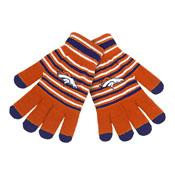 Denver Broncos Knit stretch Gloves