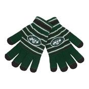 New York Jets Knit stretch Gloves