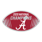 Alabama Crimson Tide 2020 National Champion 12