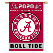 Alabama Crimson Tide 2020 National Champion 2-Sided 28 X 40 Banner