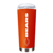 Chicago Bears 20 Oz. Stainless Steel Travel Tumbler Metallic Graphics