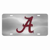 Alabama Crimson Tide Die-cast License Plate