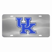Kentucky Wildcats Die-cast License Plate
