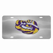 LSU Tigers Die-cast License Plate