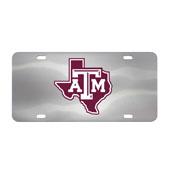 Texas A & M Aggies Die-cast License Plate