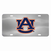 Auburn Tigers Die-cast License Plate