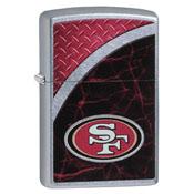 San Francisco 49ers Zippo Refillable Lighter