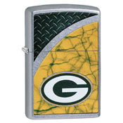 Green Bay Packers Zippo Refillable Lighter