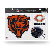 Chicago Bears Magnet Set 3 Piece