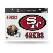 San Francisco 49ers Magnet Set 3 Piece