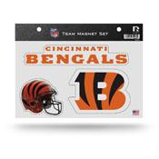 Cincinnati Bengals Magnet Set 3 Piece