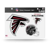 Atlanta Falcons Magnet Set 3 Piece