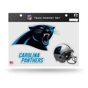 Carolina Panthers Magnet Set 3 Piece