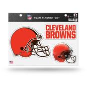 Cleveland Browns Magnet Set 3 Piece