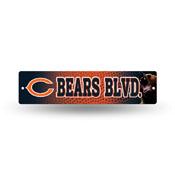 Chicago Bears Plastic Street Sign