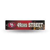 San Francisco 49ers Plastic Street Sign