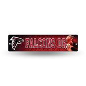 Atlanta Falcons Plastic Street Sign
