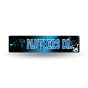 Carolina Panthers Plastic Street Sign