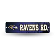 Balitmore Ravens Plastic Street Sign