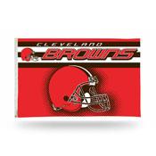 Cleveland Browns 3 x 5 Flag - Helmet Design