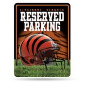 Cincinnati Bengals Metal Parking Sign