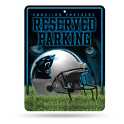 Carolina Panthers Metal Parking Sign