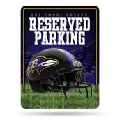 Balitmore Ravens Metal Parking Sign