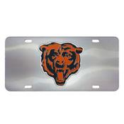 Chicago Bears Die-cast License Plate