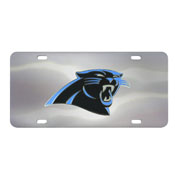 Carolina Panthers Die-cast License Plate