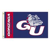 Gonzaga Bulldogs 3 Ft. X 5 Ft. Flag W/Grommets
