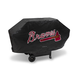 Braves Deluxe Grill Cover (Black)