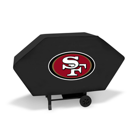 49Ers Executive Grill Cover (Black)