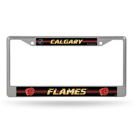 Calgary Flames Bling Chrome Frame