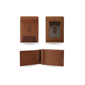 Arizona State Premium Leather Front Pocket Wallet