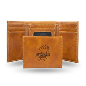 Adams State Grizzlies Brown Laser Engraved Trifold