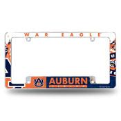 Auburn All Over Chrome Frame-1