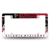 Falcons All Over Chrome Frame