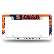 Syracuse University All Over Chrome Frame (Top Oriented)