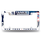 Yankees All Over Chrome Frame