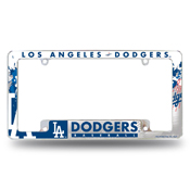 Dodgers All Over Chrome Frame