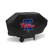 Phillies Deluxe Grill Cover (Black)