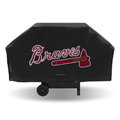 Braves Economy Grill Cover (Black)