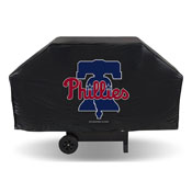 Phillies Economy Grill Cover (Black)