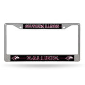 Southern Illinois Bling Chrome Frame-1