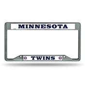 Minnesota Twins Inverted Chrome Frame
